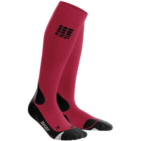 cep Pro+ Outdoor Merino Chaussettes Homme, dark red/black
